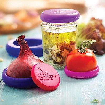 Food Huggers Reusable Food Savers (Set of 5)