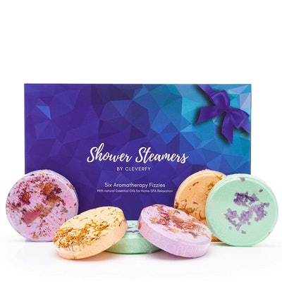 Cleverfy Aromatherapy Shower Steamers, 6 Pieces