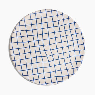 Bamboo Dinner Plates in Grid Set