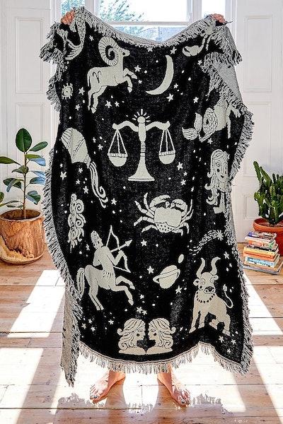 Astrology Throw Blanket