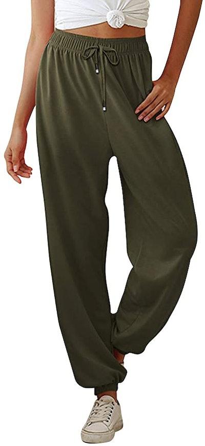 Yidarton High-Waisted Sweatpants