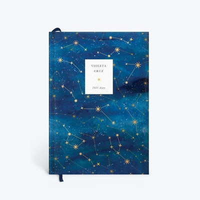 Constellation Foiled 2021 Diary