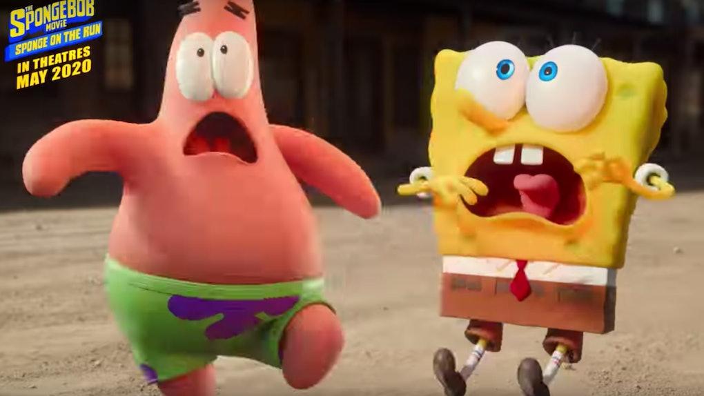 The 'SpongeBob SquarePants: Sponge On The Run' Super Bowl Trailer features Snoop Dogg.