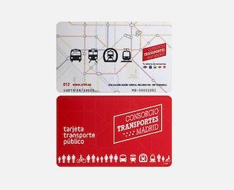 Metro de Madrid Transport Card