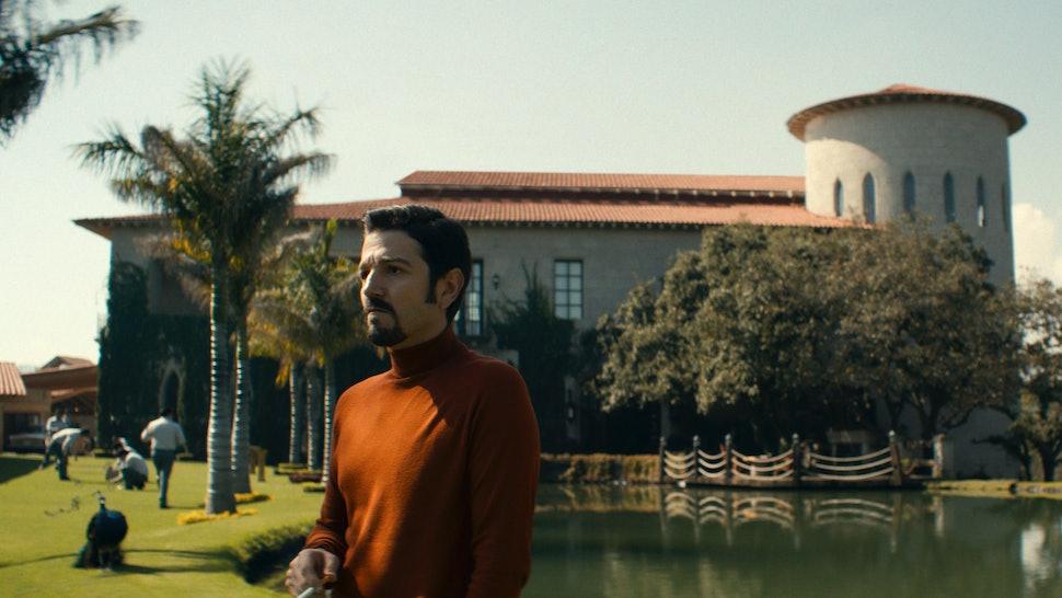 Diego Luna as Felix Gallardo in Narcos: Mexico Season 2