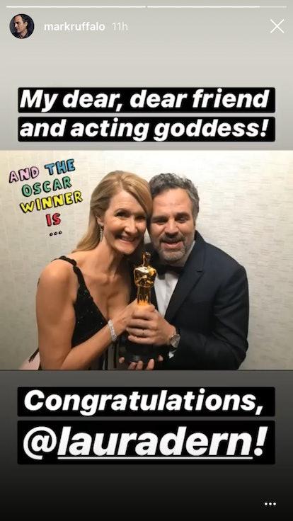 Mark Ruffalo and Laura Dern, Oscars 2020