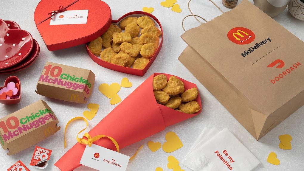 McDonald's Valentine's Day 2020 deal includes money off your DoorDash order.