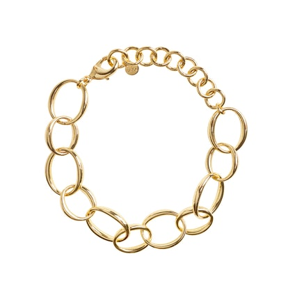 BaYou With Love Oval Chain Bracelet
