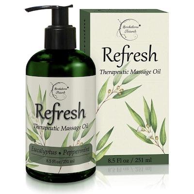 Brookethorne Naturals Refresh Massage Oil