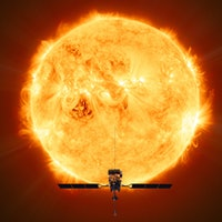 NASA/ESA video shows explosive Solar Orbiter launch, starting its journey to the Sun