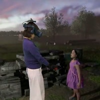 VR reunites a woman with her dead daughter
