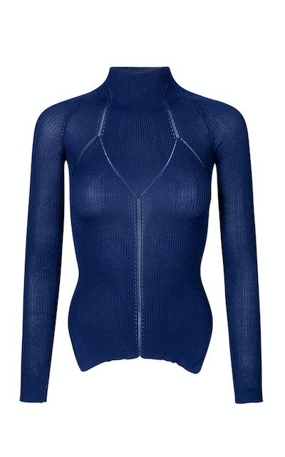 Cortney Ribbed Turtleneck Sweater