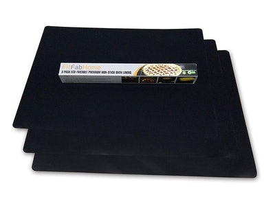 FitFabHome Oven Liner (3-pack)
