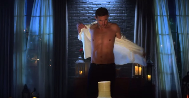 Peter gets in touch with his inner Ghost in the new Bachelor promo.