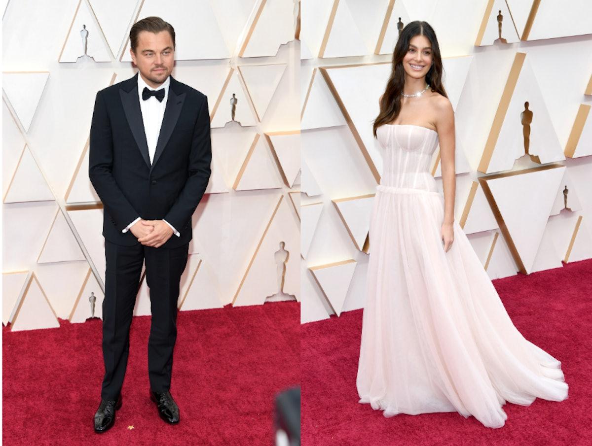 Camila Morrone joined Leonardo DiCaprio at the 2020 Oscars
