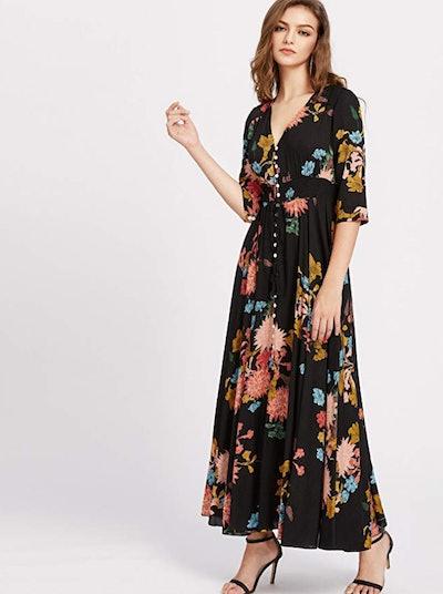 Milumia Floral Maxi Dress