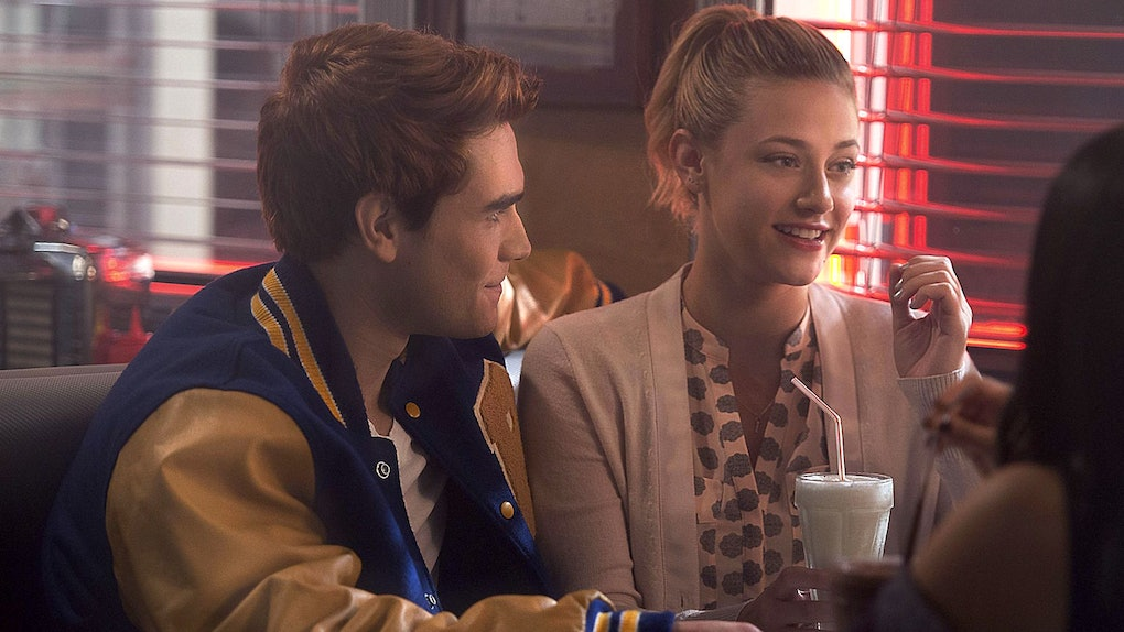 A photo of Archie and Betty as kids teases an upcoming flashback episode of 'Riverdale.'