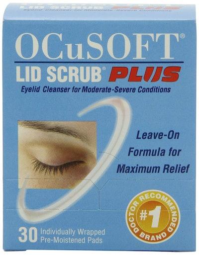 OCuSOFT Lid Scrub Plus, Pre-Moistened Pads, 30 Count