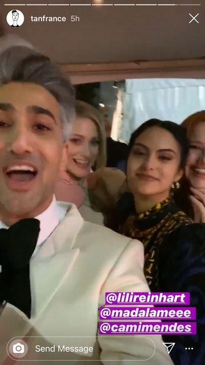 Tan France, Lili Reinhart, Camila Mendes, Madelaine Petsch, Oscars 2020