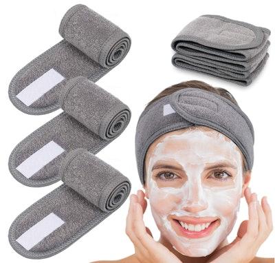 Whaline Spa Facial Headband (4-Pack)