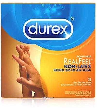 Durex Real Feel Avanti Bare Polyisoprene Non-Latex Condoms, 24 Count