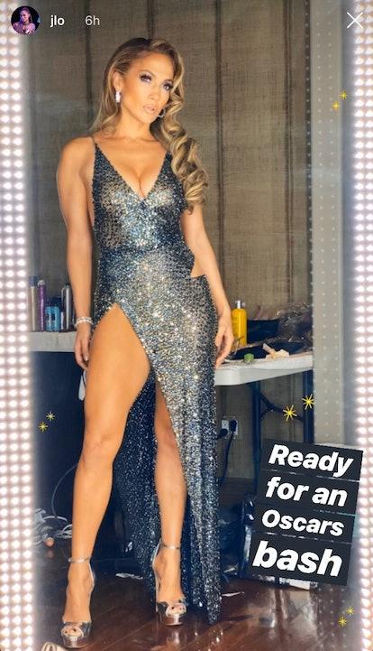 Jennifer Lopez 2020 Oscars Party