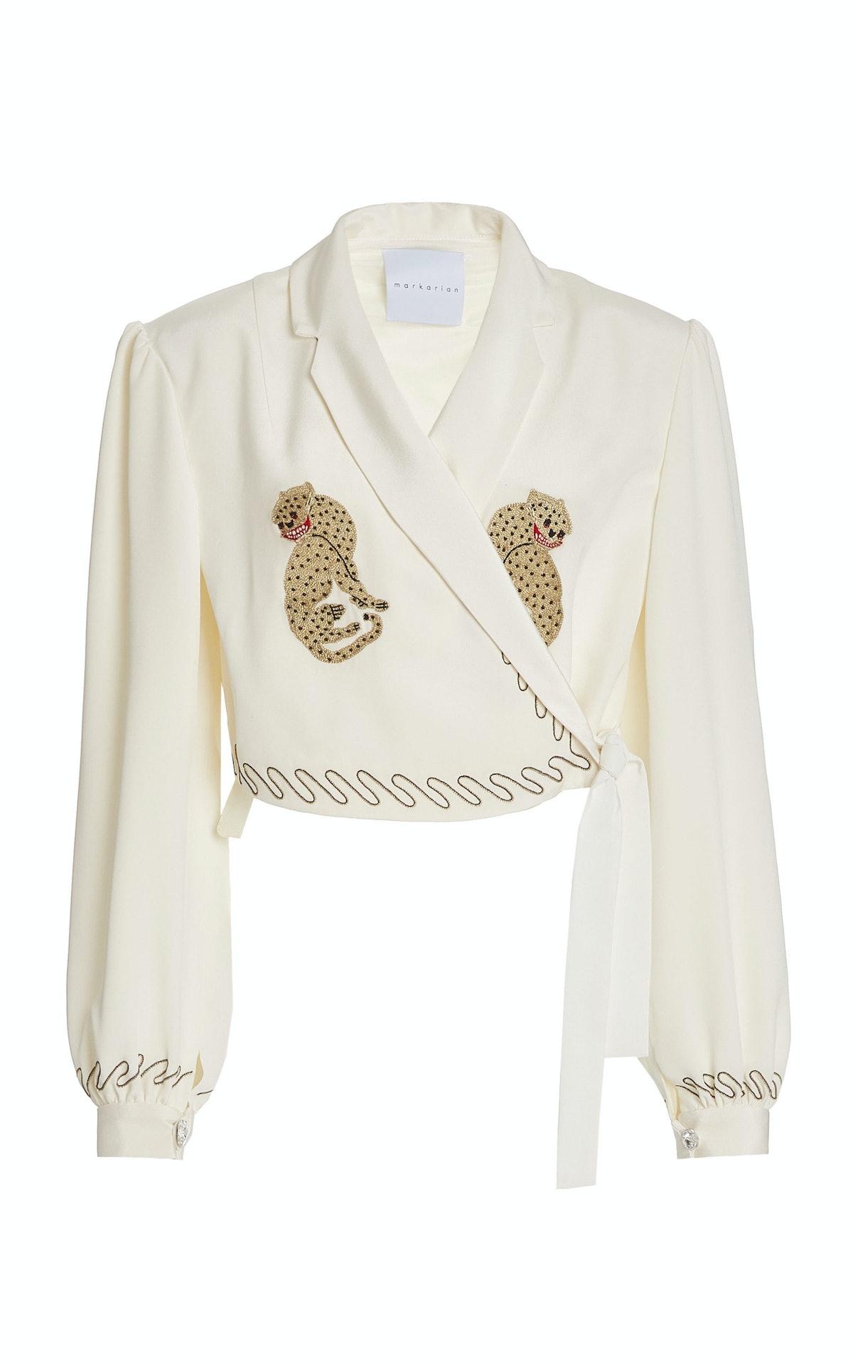Embroidered Silk Jacket