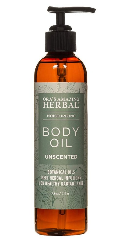Ora's Amazing Herbal Unscented Body Oil