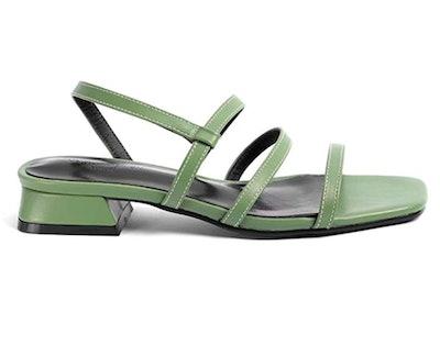 Greatonu Block Strappy Sandals