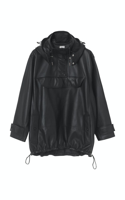 Brazoria Leather Parka