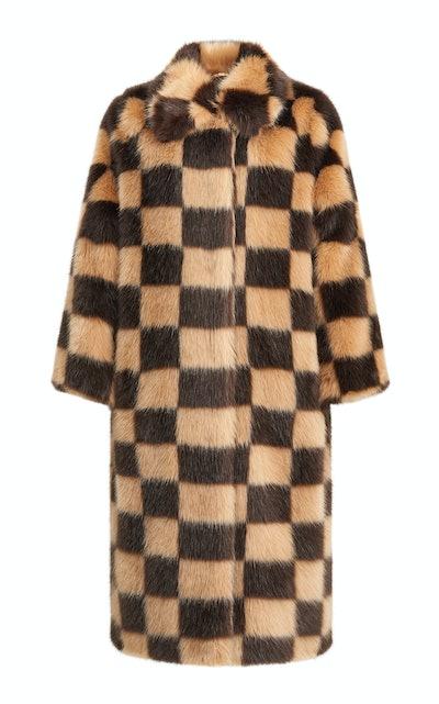 Nino Check Coat