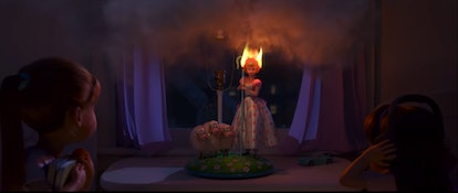 """Lamp Life"" on Disney+ reveals how Bo Peep ended up at the antique shop."