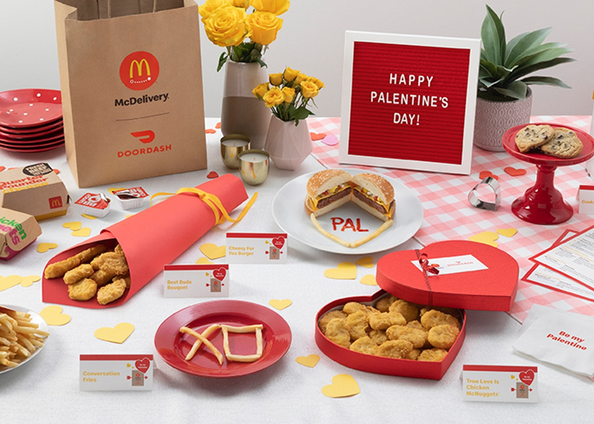 McDonald's Valentine's Day 2020 deal will score you $5 off your delivery.