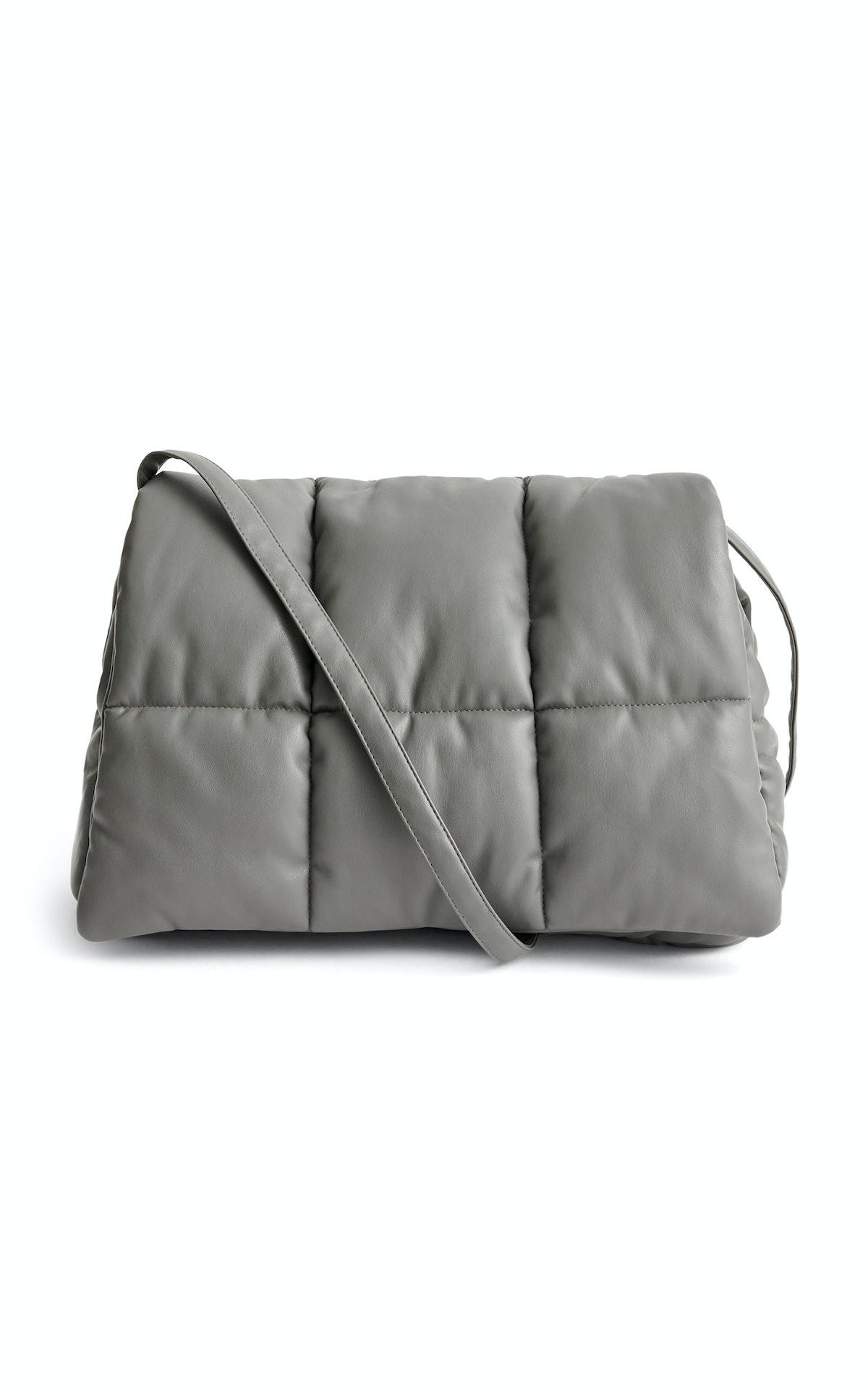 Wanda Oversized Leather Clutch