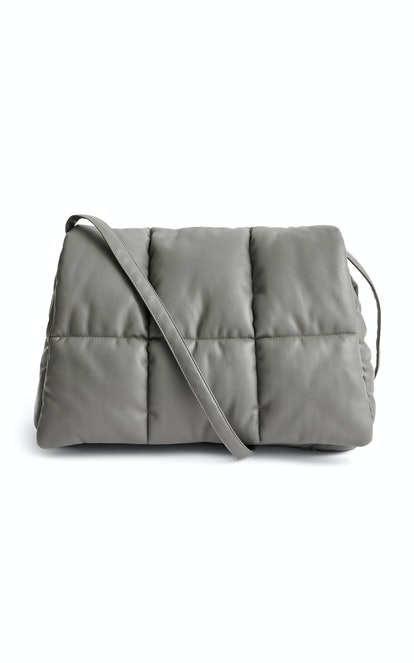Wanda Oversized Leather Clutch