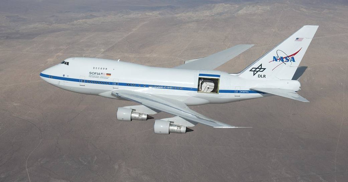 In 2021, NASA's flying telescope SOFIA might lose its wings
