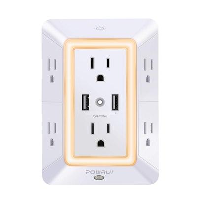USB Wall Charger, Surge Protector, POWRUI