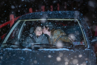 """THIS IS US -- """"A Hell of a Week: Part Three"""" Episode 413 -- Pictured: (l-r) Austin Abrams as Marc, Hannah Zeile as Kate"""