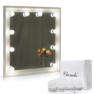 Chende Hollywood Style LED Vanity Mirror Lights Kit