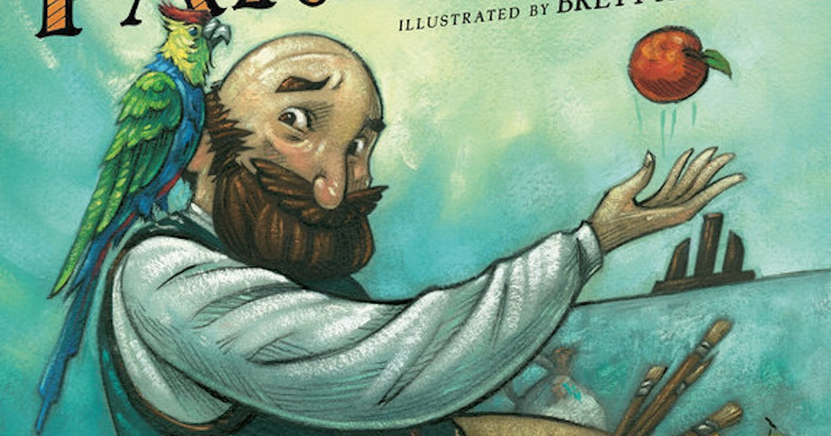 This Picture Book Is Perfect For Young Artists