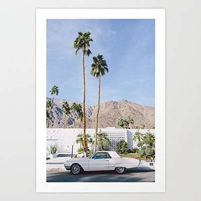 VEHFA Palm Springs Mid Century Modern Canvas Wall Art