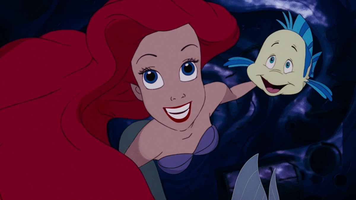 Ariel sings 'Part of Your World' in 'The Little Mermaid' with Flounder.