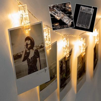 Lavince LED Photo Clips String Lights