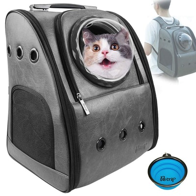 Petrip Cat Backpack Carrier for Large Cats