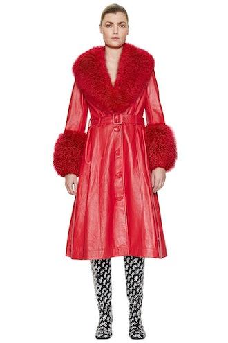 Foxy Shearling Coat