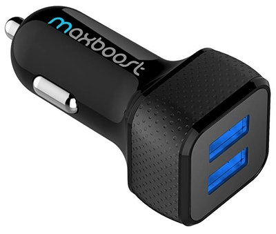 Maxboost Car Charger with SmartUSB