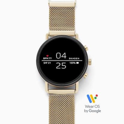 Smartwatch - Falster 2 Gold-Tone Mesh