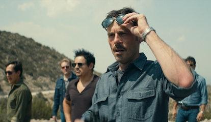Jero Medina, Matt Biedel, Jesse Garcia, Scoot McNairy, and Miguel Rodarte in 'Narcos: Mexico' Season 2