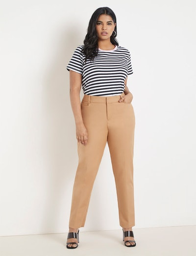 Kady Fit Double-Weave Pants