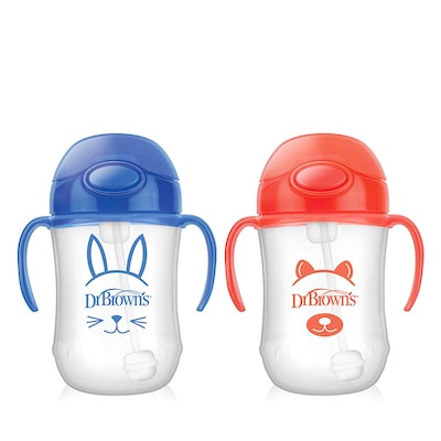 Dr. Brown's Baby's First Straw Cup (2-Pack)